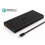 Aukey 16000 mAh Quick Charge 3.0 Slim Powerbank แถมถุงผ้าฟรี