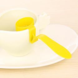 เครื่องกรองชาในแก้ว(สีเขียว)