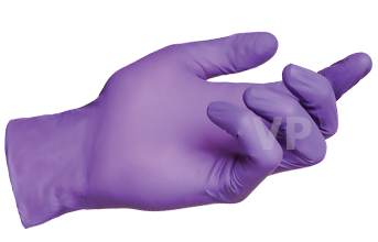 ถุงมือไนไตร (์Nitrile Gloves) สีม่วง ลังละ 500 คู่ กล่องละ 240 บาท