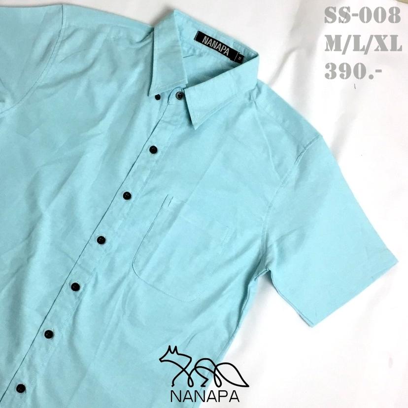 เสื้อเชิ้ตแขนสั้น ชาย NANAPA Shirts SS-008