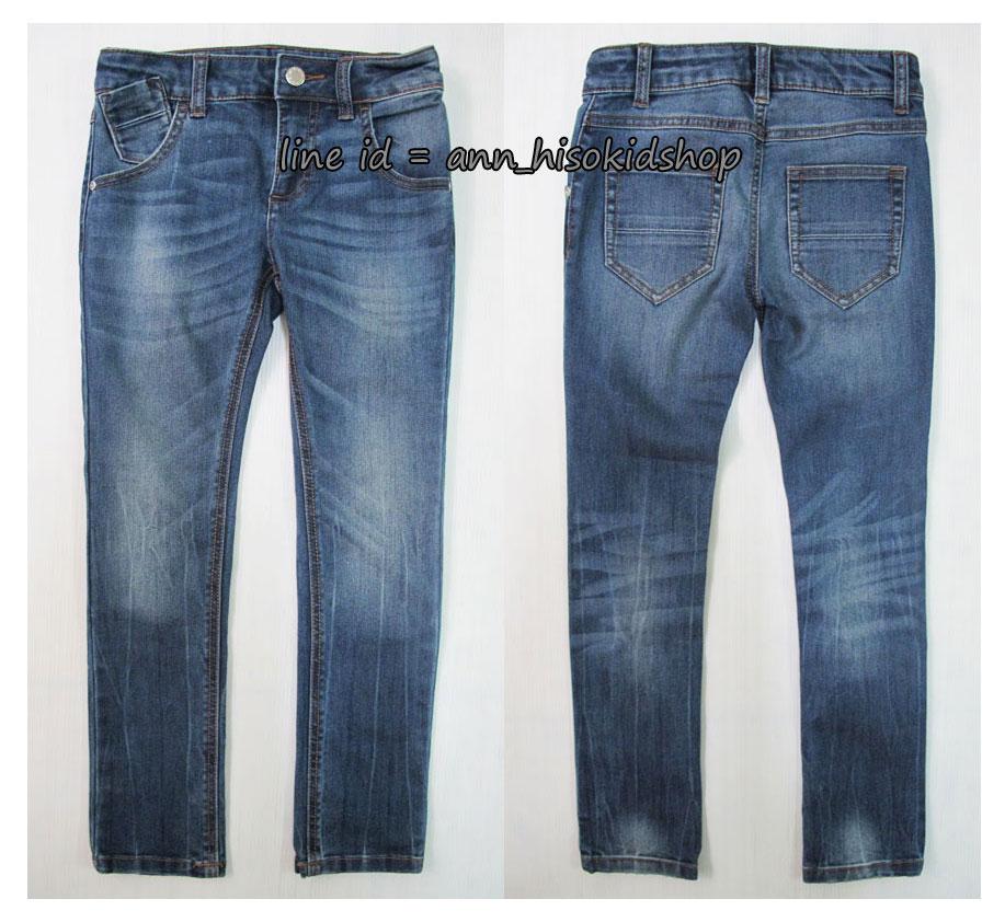 1734 Benetton Stretch Jeans - Blue ขนาด M,XL