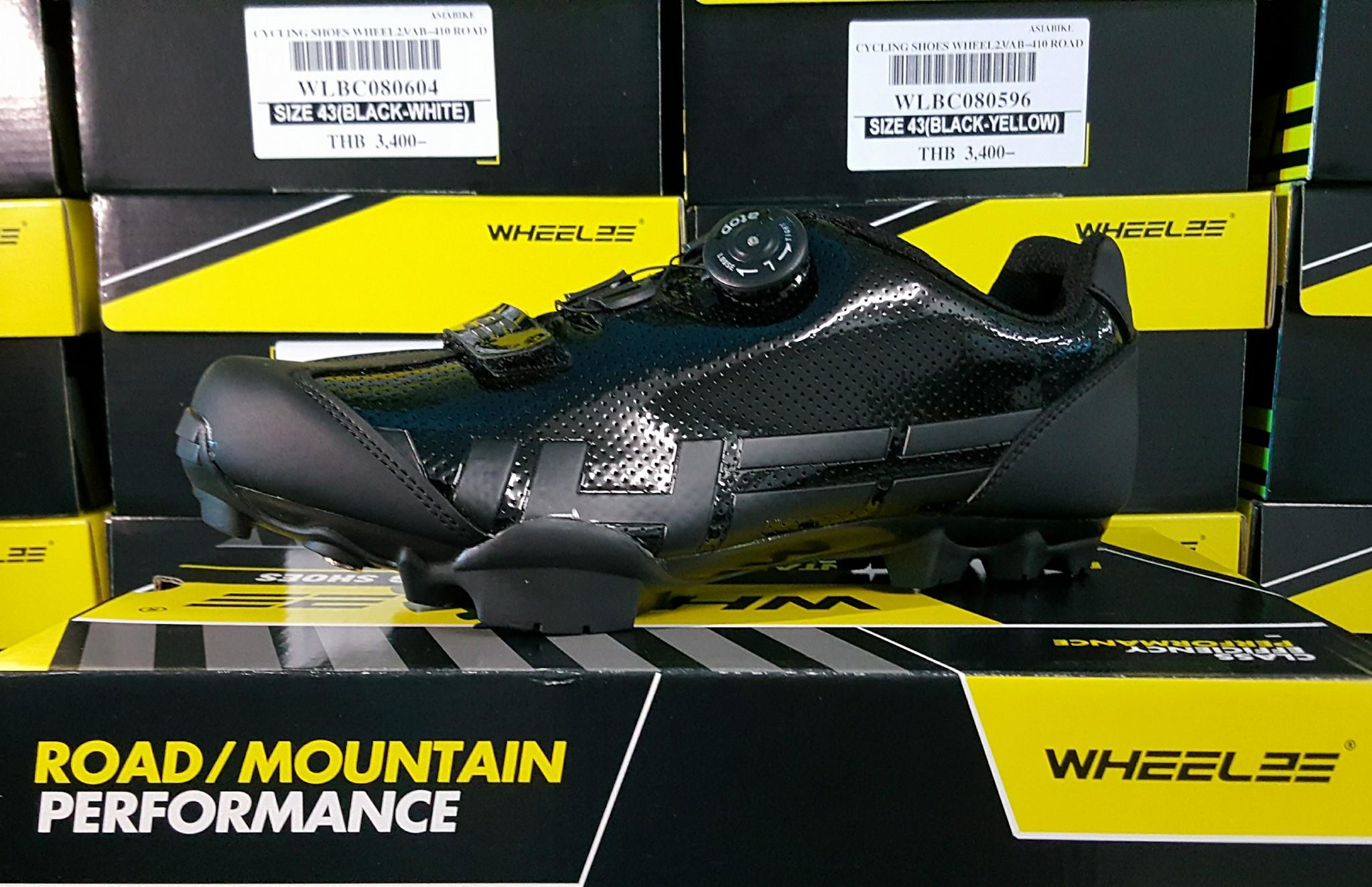รองเท้าเสือภูเขา MTB Wheeler Shoes 2017