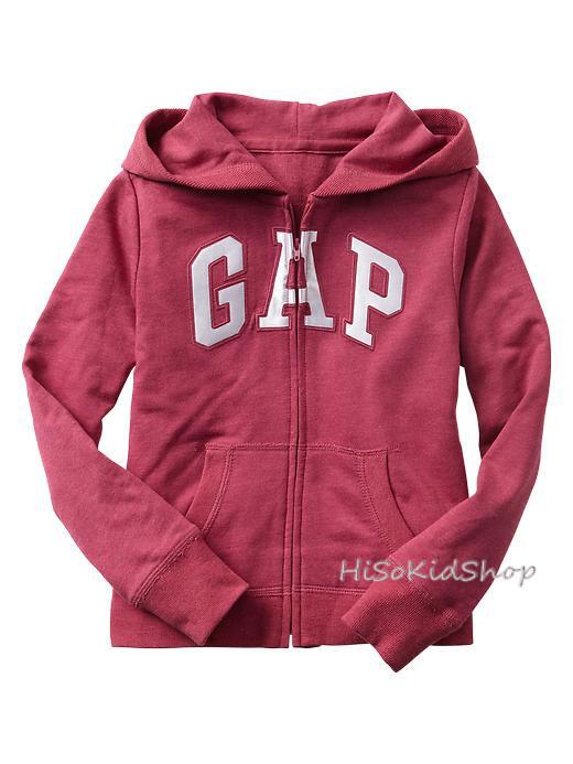 1673 Gap Kids Arch Logo Hoodies - Rose ขนาด 12-13 ปี - ส่งฟรี ลทบ.