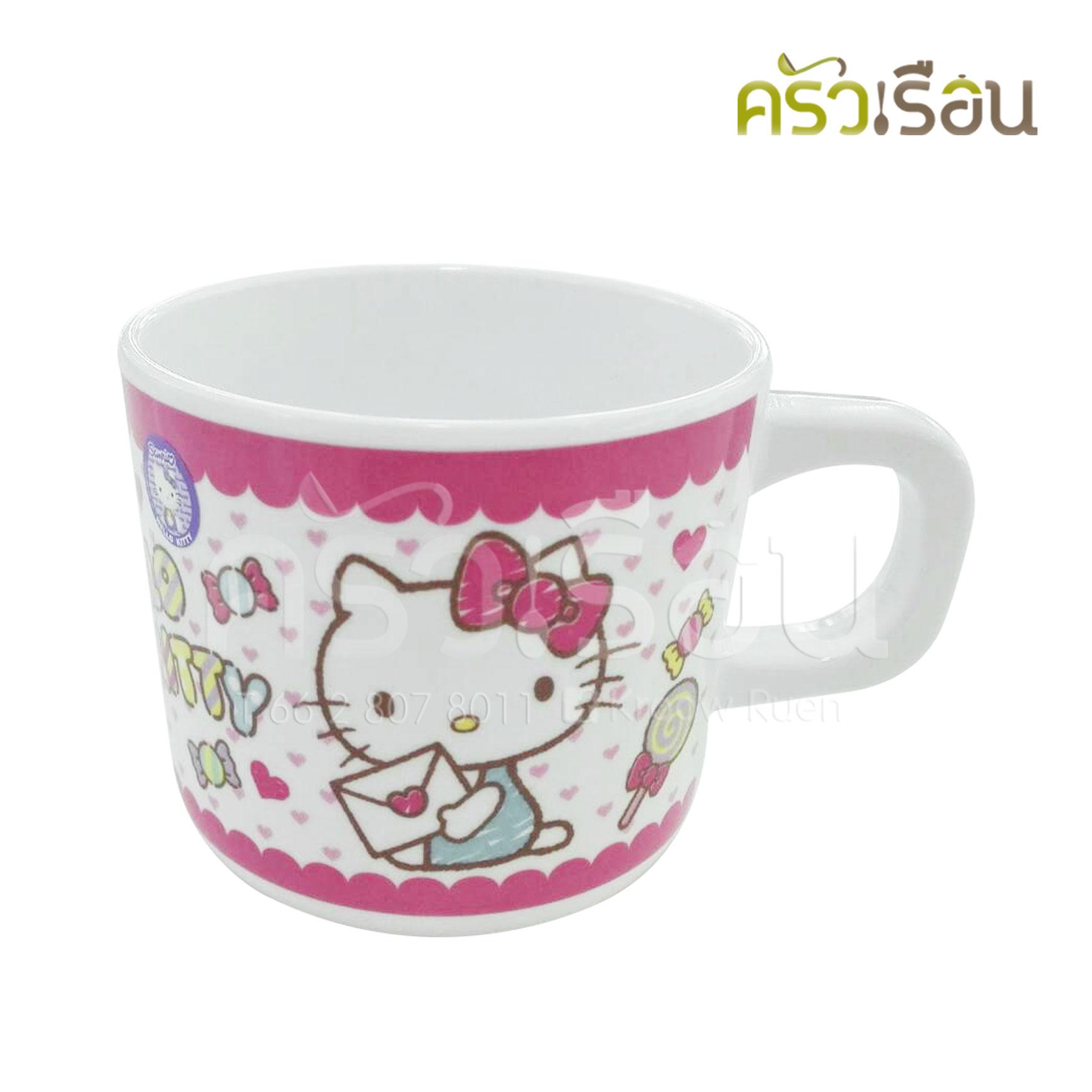 Superware ถ้วยหู คิตตี้ แคนดี้ Kitty Candy C634-3