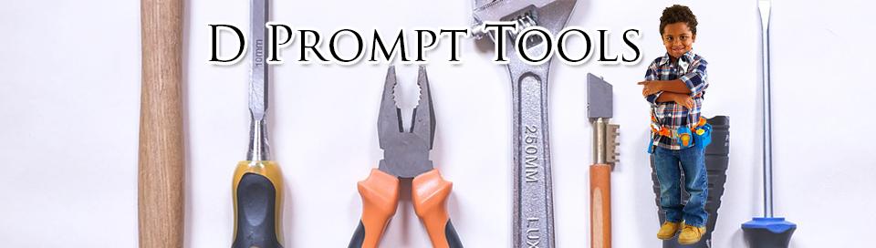 D Prompt Tools