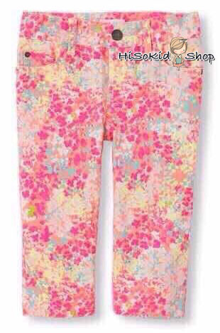 1002 The Children Place Girls Capri Pants - Pink ขนาด 8,12 ปี