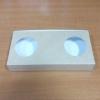 กล่องบราวนี่ 3-4 ชิ้น กล่องทรงแบน กล่องช็อคโกแลต กล่องขนมฟู้ดเกรด ลายคราฟท์ กว้าง 10.0 x ยาว 22.0 x สูง 3.0 ซม.