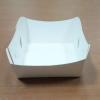 ถาดใส่ขนม/ถาดขนมปัง/ถาดชิม/ถาดกระดาษ ฟู้ดเกรด สีขาว กว้าง 7.9 x ยาว 8.8 x สูง 3.6 ซม. สำเนา