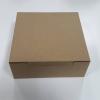กล่องขนม 18x18x7 ซม. กล่องเค้ก กล่องคัพเค้ก กล่องบราวนี่ กล่องชิฟฟ่อน กล่องช้อคโกแล็ต กล่องคุ๊กกี้ กล่องสแน็ค สีคราฟท์น้ำตาล