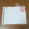 กล่องสไลด์ กล่องของขวัญ กล่องฝาครอบ กล่องของที่ระลึก กล่องอเนกประสงค์ กล่องของใช้ กล่องแบบฝาสไลด์ สีขาว ขนาด 19.0x21.5x3.5 ซม. ราคา 270 บาท/12 ใบ