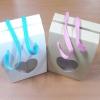 กล่องคุ๊กกี้ กล่องขนม กล่องคัพเค้ก สีขาว มีเชือกหูหิ้ว กว้าง 11.5 x ลึก 8.5 x สูง 16 ซม.