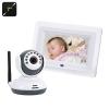กล้องส่องเด็กหน้าจอ 7 นิ้ว Baby Monitor ต่ออกทีวีได้ พกพาสะดวก ไม่ต้องใช้ WiFi