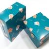กล่องสแน็ค กล่องอาหารว่าง ลายอคารุอิ แคท กว้าง12.7 x ยาว12.7 x สูง 6.5 ซม.