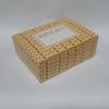 กล่องสแน็ค กล่องอาหารว่าง ลาย Snack box เหลือง ขนาด 15.5 x 11.5 x 6.0 ซม.