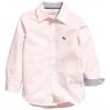 1267 H&M Cotton Shirt - Pink ขนาด 9-10,10-11,11-12 ปี (งานแท้ 100%)