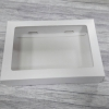 กล่องของขวัญ กล่องของที่ระลึก กล่องฝาครอบ กล่องอเนกประสงค์ กล่องของใช้ กล่องใส่ข้าวสาร กล่องแบบฝาครอบ สีขาว ขนาด 22.5x16.2x4.5 ซม. ราคา 290 บาท/20 ใบ