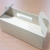 กล่องหูหิ้ว กล่องเค้กโรล กล่องซาลาเปา กล่องคัพเค้ก กล่องเค้ก กล่องคุ๊กกี้ กล่องขนม ลายคราฟท์ กว้าง 28.0 x ยาว 12.0 x สูง 9.0 ซม.
