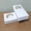 กล่องบราวนี่ 2 - 3 ชิ้น กล่องทรงแบน กล่องคุ๊กกี้ กล่องช็อคโกแลต กล่องขนมฟู้ดเกรด สีขาว กว้าง 8.0 x ยาว 15.0 x สูง 3.0 ซม..