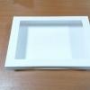 กล่องบราวนี่ กล่องชิฟฟ่อน 26.0x20.5x5.0 ซม.กล่องขนมเปี๊ยะ กล่องพาย กล่องช็อกโกแลต กล่องเค้กครึ่งปอนด์ สีขาว