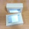 กล่องอาหาร กล่องขนม ลายคราฟท์ มีฝาพับปิด 18.5x11.5x5.0ซม.125 บาท (20ใบ)