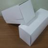 กล่องเค้กโรล / กล่องคัพเค้ก 3 ชิ้น / กล่องเค้ก 3-4 ชิ้น / กล่องขนม สีขาว กว้าง 24.0 x ยาว 9.0 x สูง 9.0 ซม.