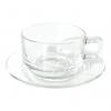 ชุดกาแฟ ก้นมน ทรงซ้อน 8 ออนซ์ #329/325