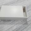 กล่องสไลด์ กล่องของขวัญ กล่องของที่ระลึก กล่องอเนกประสงค์ กล่องของใช้ กล่องแบบฝาสไลด์ สีขาว ขนาด 21.5x12.5x4 ซม. ราคา 180 บาท/10 ใบ