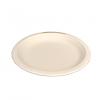 Gracz เกรซ - จานกลมมีขอบไบโอชานอ้อย - P011 - ขนาด 7 นิ้ว