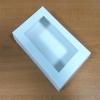 กล่องบราวนี่ กล่องชิฟฟ่อน กล่องช๊อกโกแลต กล่องพาย กล่องทาร์ตไข่ กล่องขนมเปี๊ยะ สีขาว กว้าง18.5 x ยาว 11.5 x สูง 5.0 ซม. สำเนา