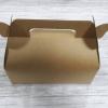 กล่องหูหิ้ว กล่องเค้กโรล กว้าง 20.5 x ยาว 10.0 x สูง 9.0 ซม.กล่องซาลาเปา กล่องคัพเค้ก กล่องเค้ก กล่องคุ๊กกี้ กล่องขนม สีคราฟท์น้ำตาล