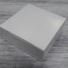 กล่องขนม 18x18x7 ซม. กล่องเค้ก กล่องคัพเค้ก กล่องบราวนี่ กล่องชิฟฟ่อน กล่องช้อคโกแล็ต กล่องคุ๊กกี้ กล่องสแน็ค สีขาว
