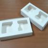 กล่องบราวนี่ 2 - 3 ชิ้น กล่องทรงแบน กล่องคุ๊กกี้ กล่องช็อคโกแลต กล่องขนมฟู้ดเกรด สึขาว กว้าง 8.0 x ยาว 15.0 x สูง 3.0 ซม..