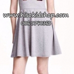 1107 H&M Dress - Grey ขนาด 155