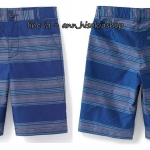 1841 Flat-Front Madras Shorts for Boys = Baja Strip ขนาด 16 ปี