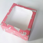 กล่องคัพเค้ก กล่องคัพเค้ก 12 ชิ้น (พร้อมฐานคัพเค้ก) ลายวันเดอร์ฟูลยุโรป