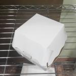 กล่องแฮมเบอร์เกอร์ กล่องอาหาร Size XL สีขาว 12.0x12.5x9.5ซม.ราคา 325 บาท( 50 ใบ)