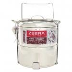 Zebra ปิ่นโตสเตนเลส รุ่น Classic ตราหัวม้าลาย