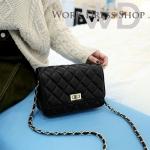 Pre-order กระเป๋าหนังแท้ สีดำ เนื้อนิ่ม งานสวย