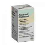 Accutrend แผ่นตรวจไขมัน Cholesterol 25's