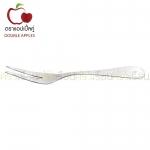Double Apples ส้อมผลไม้ สเตนเลส ลาย 055 ขนาด 14.5 ซม. แพ็ค 2 ชิ้น