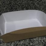 กล่องถาดใส่อาหารsize L 18.5x13.7x 6.1ซม.ราคา 260 บาท ( 50 ใบ)