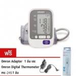ุเครื่องวัดความดันโลหิตแบบดิจิตอล Omron HEM 7130 แถมฟรี! Adapter แท้และปรอทวัดไข้ mc245 รับประกัน 5 ปี