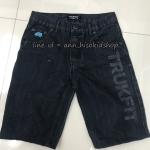 1995 Trukfit Short Jeans - Black ขนาด 10,12,14,16,18,20 ปี