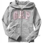 1672 Gap Kids Arch Logo Hoodies - Grey ขนาด 6-7,12-13 ปี - ส่งฟรี ลทบ.
