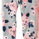 1804 Carter Floral legging - Grey ขนาด 5 ปี