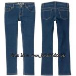 2038 Crazy Girl Dark Wash Denim Skinny Jeans ขนาด 7,12,14 ปี