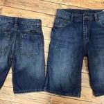 1965 Wrangler short Jeans - Blue ขนาด 10,14,16 ปี (ส่งฟรีลทบ.)