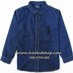 1141 Polo by Ralph Lauren Shirt - Dark Blue ขนาด 5 ปี