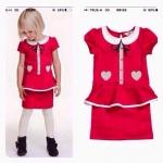 1111 H&M Santa Dress - Red (ขน shop) ขนาด 4-6,8-10 ปี