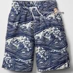 Gap Kids Boys Swim Trunks - Navy Blue ขนาด 8,10 ปี